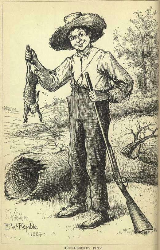 Huckleberry finn thesis racism