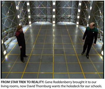 David Thornburg adapts the Star Trek Holodeck for Education Design