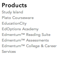 Edmentum products