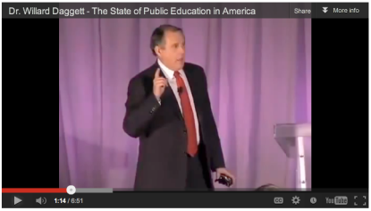 Willard Daggett on the State of Public Education in America