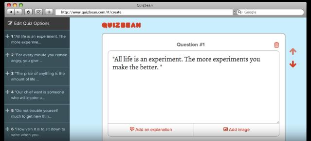 CREDIT QuizBean
