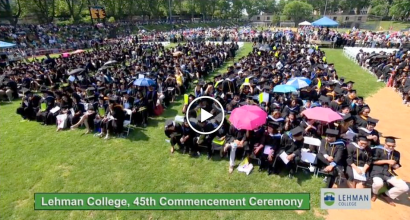 Lehman College graduation