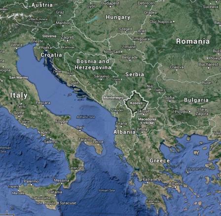CREDIT Google Maps Kosovo
