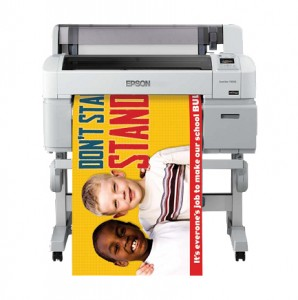 color poster maker machine